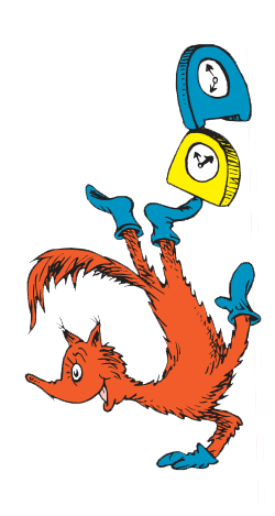 Fox In Socks Clipart.
