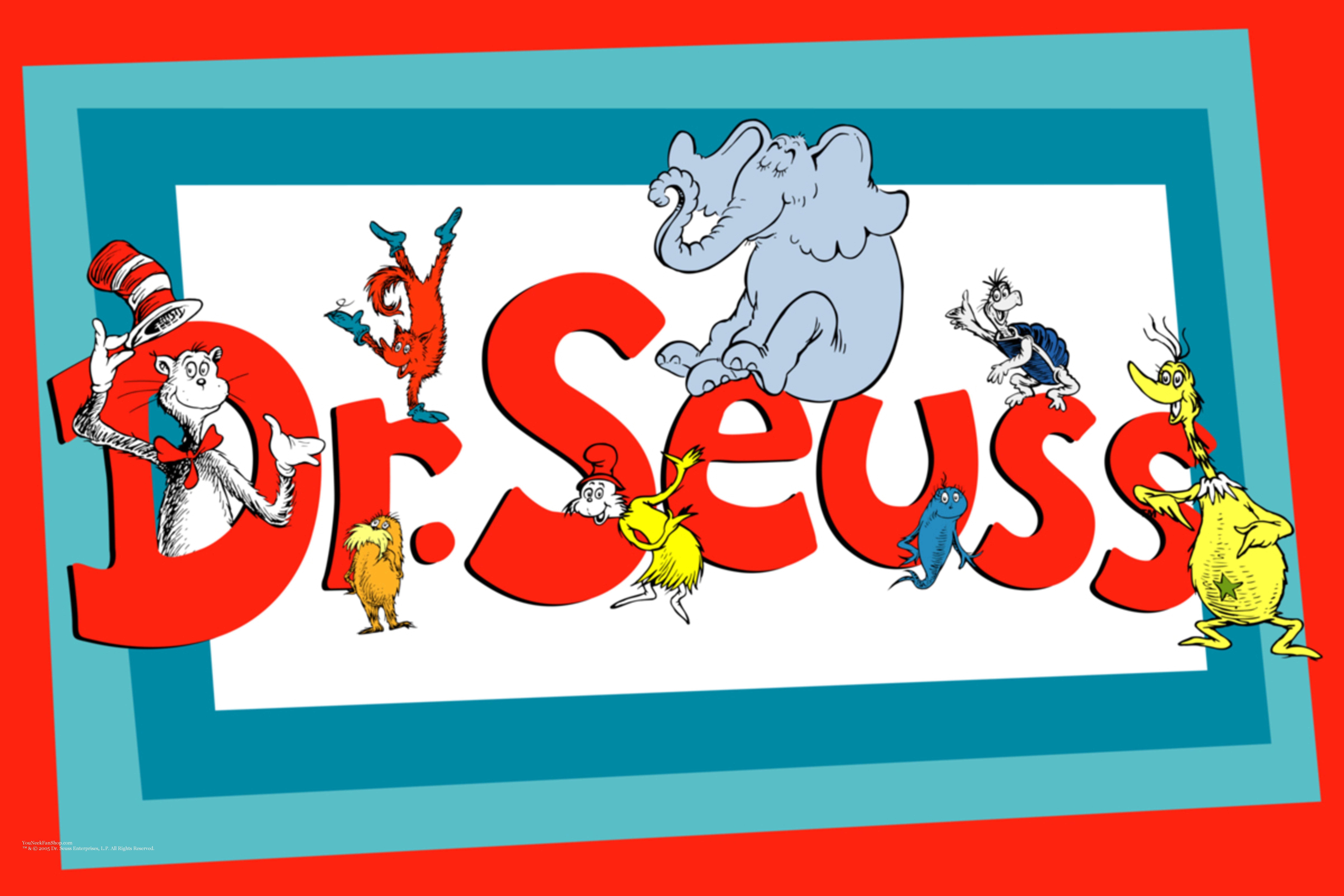 Dr Seuss Border.