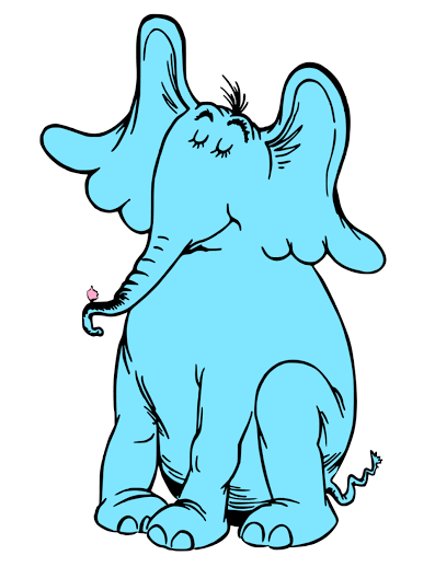 Displaying HORTON HEARS A WHO.