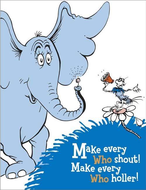 Dr. Seuss' Horton Hears A Who! Blu.