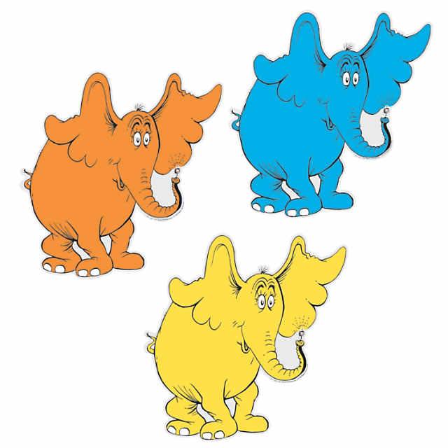 Dr. Seuss™ Horton Hears a Who™ Kindness Bulletin Board Cutouts.