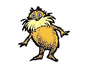 Dr Seuss Lorax Clip Art.