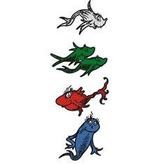 Dr. Seuss One Fish Two Fish Clip Art.