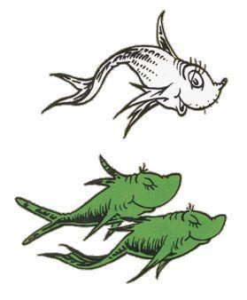 Fish Clipart dr seuss 7.