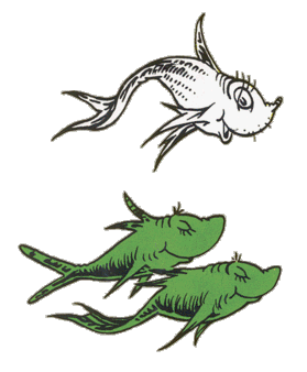 11+ One Fish Two Fish Clip Art.