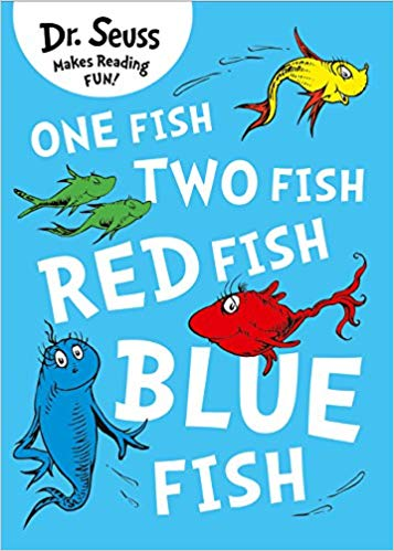 One Fish, Two Fish, Red Fish, Blue Fish Dr. Seuss: Amazon.co.uk: Dr.