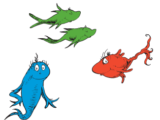 Dr. Seuss' One Fish Two Fish Games & Activities.