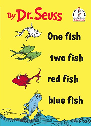 One Fish Two Fish Red Fish Blue Fish (Beginner Books(R)).