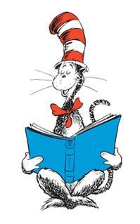Dr Seuss Reading Clipart.