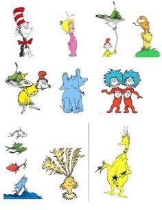 58 Best Dr. Seuss clipart images.