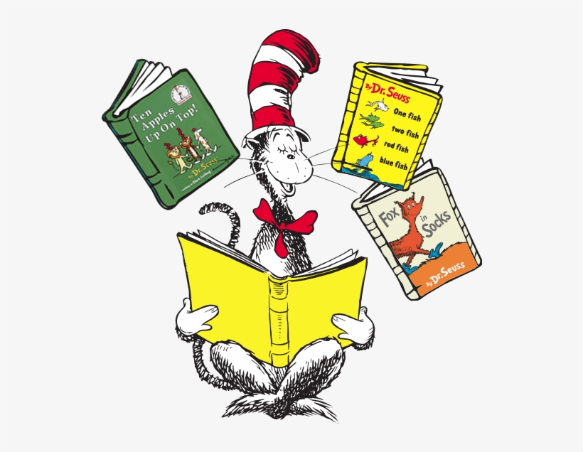 Dr Seuss Reading Clipart 5 By James.