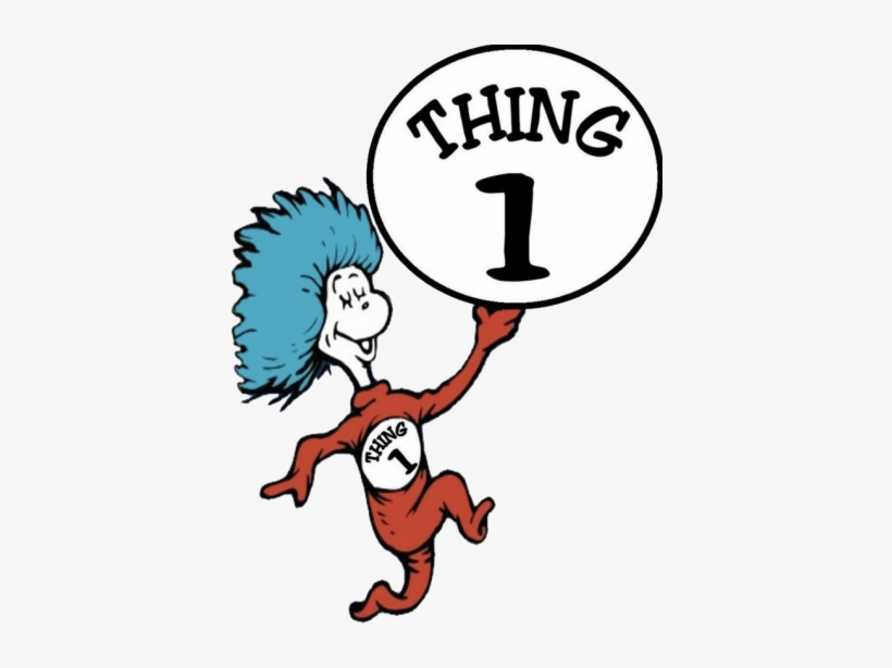Thing 1 And Thing 2 Png.