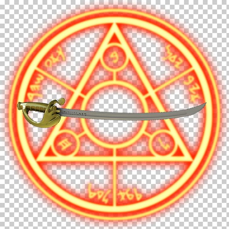 Doctor Strange Symbol Magic circle, stone cold, gold handle.