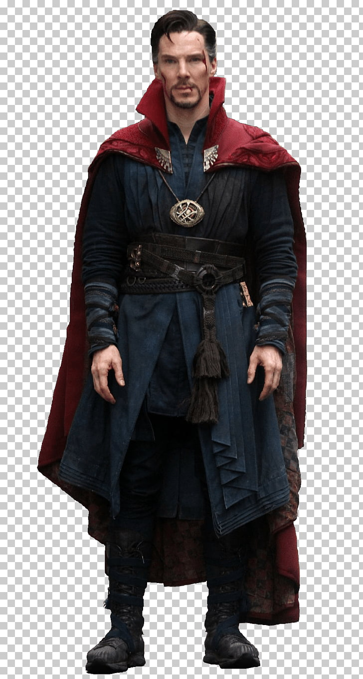 Doctor Strange Standing, Benedict Cumberbatch as Dr. Strange PNG.