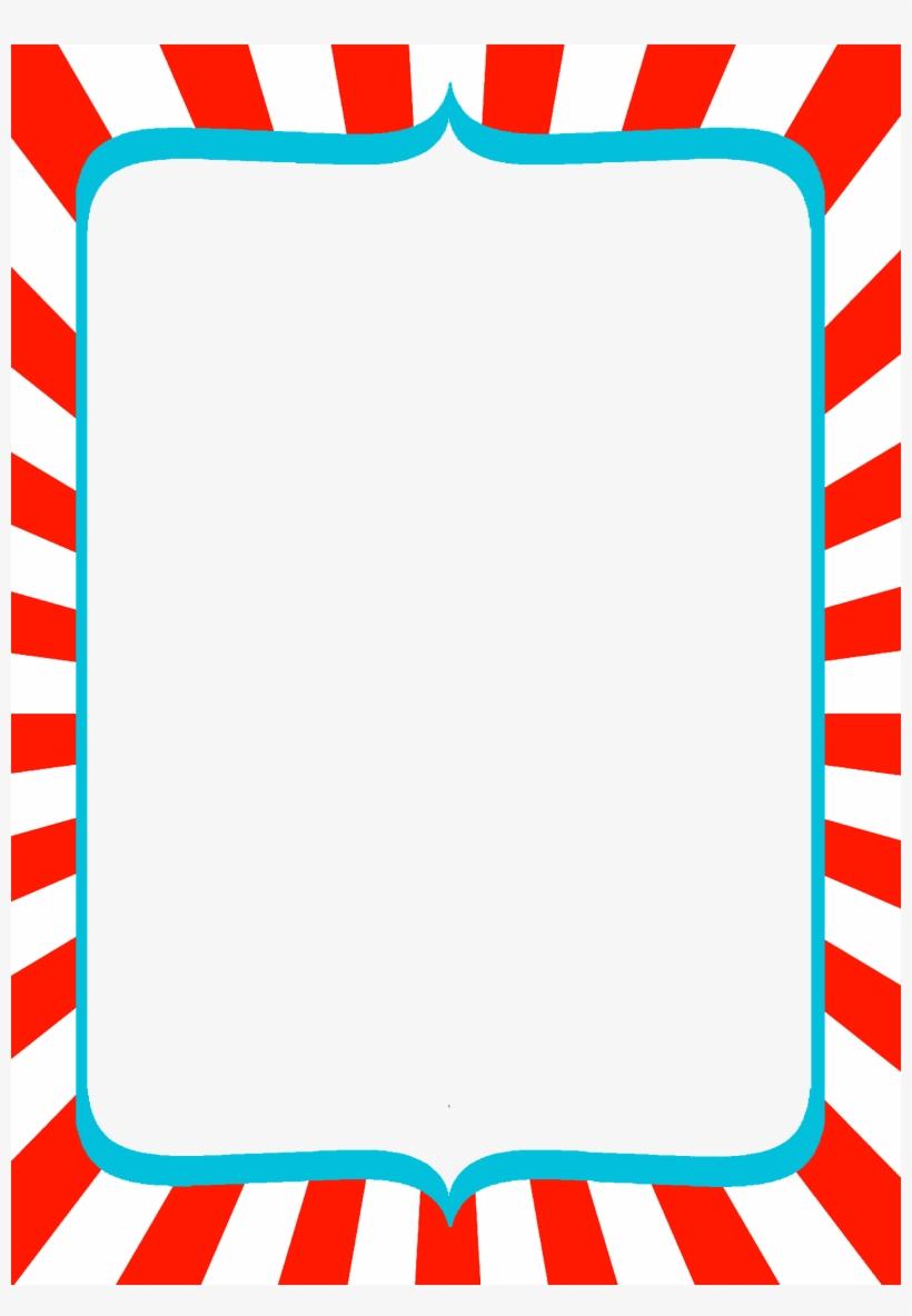 Dr Seuss Border Clipart Transparent.