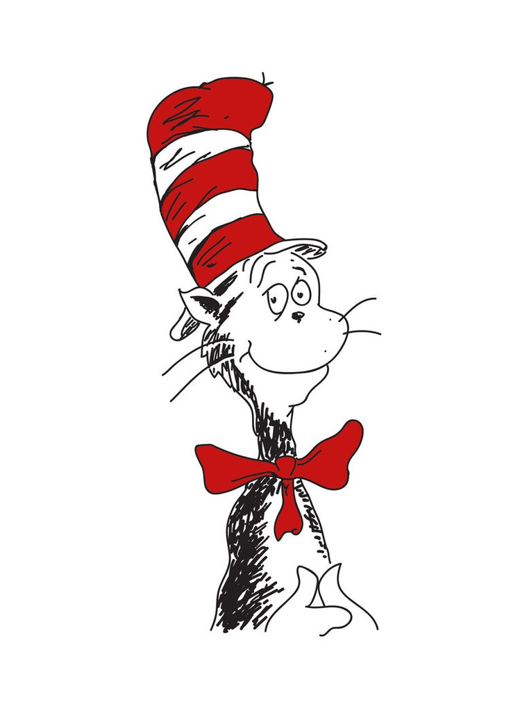 Dr Seuss Cat In The Hat Clipart at GetDrawings.com.