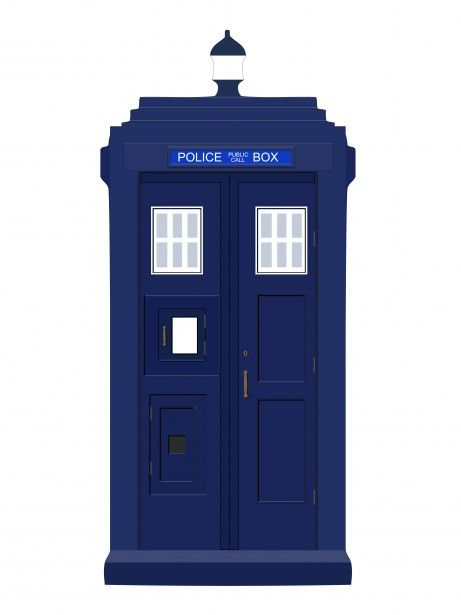 dr who pic police call box clip art.