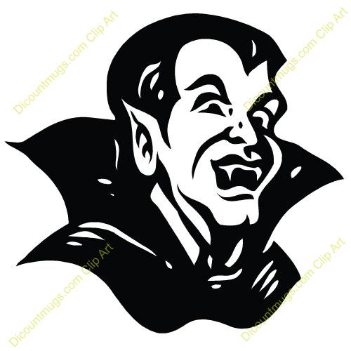 Cute Dracula Clipart.