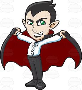 Cartoon Dracula Clipart.