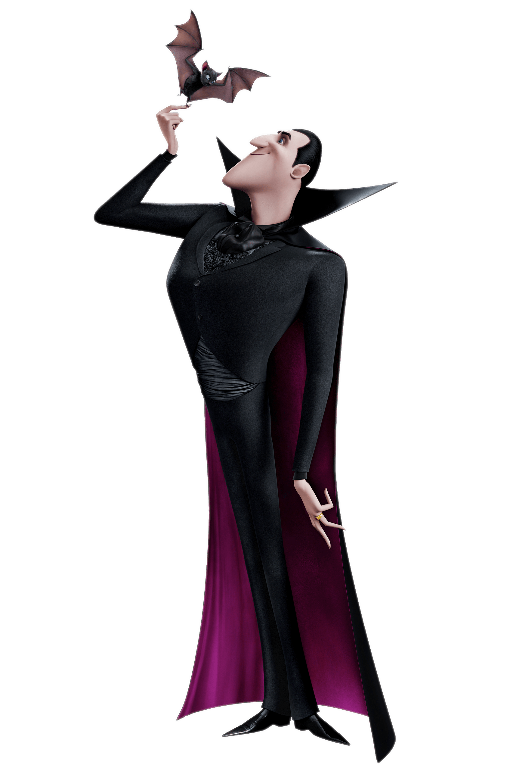 Dracula and Bat transparent PNG.