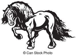Draft horse Stock Illustrations. 140 Draft horse clip art images.