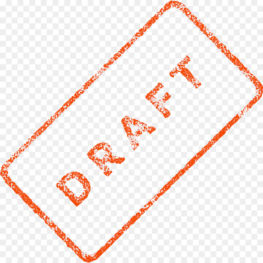 Draft Text png download.