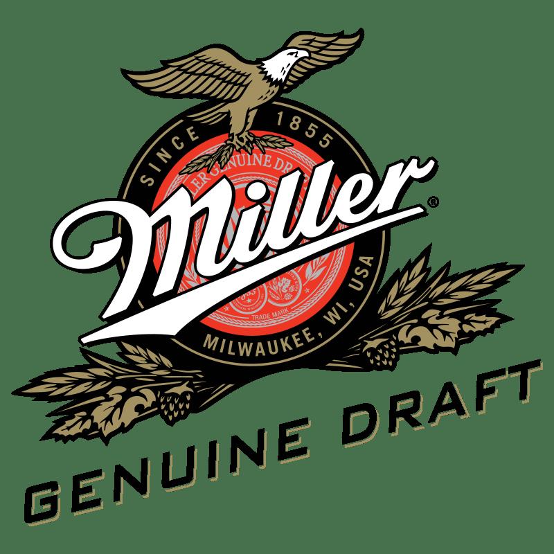 Miller Genuine Draft Logo transparent PNG.