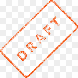 Draft Watermark PNG and Draft Watermark Transparent Clipart.