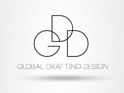 Global Drafting Design Logo Version 2 by TOK / Digital.
