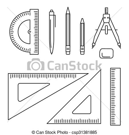Vector drawing instrument..
