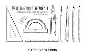 Drafting tools Vector Clip Art EPS Images. 4,105 Drafting tools.