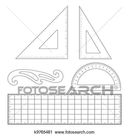 Drafting Tools Clipart.