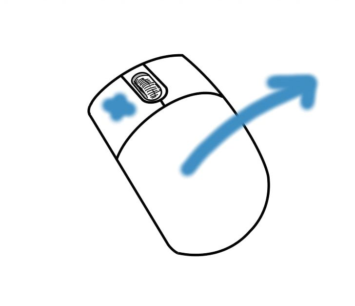 Computer Mouse Drag And Drop Pointer Mouse Button PNG.