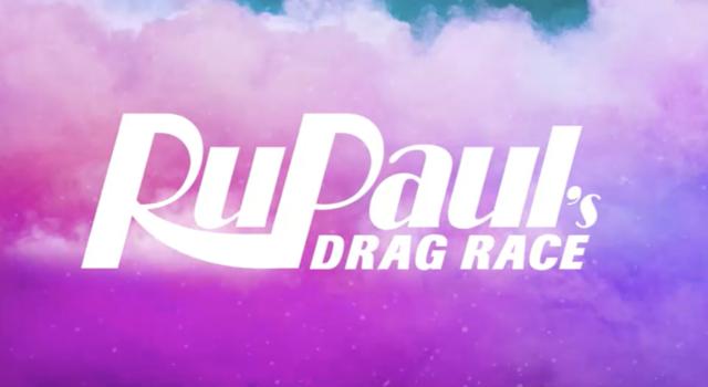RuPauls Drag Race Logo Season 9.