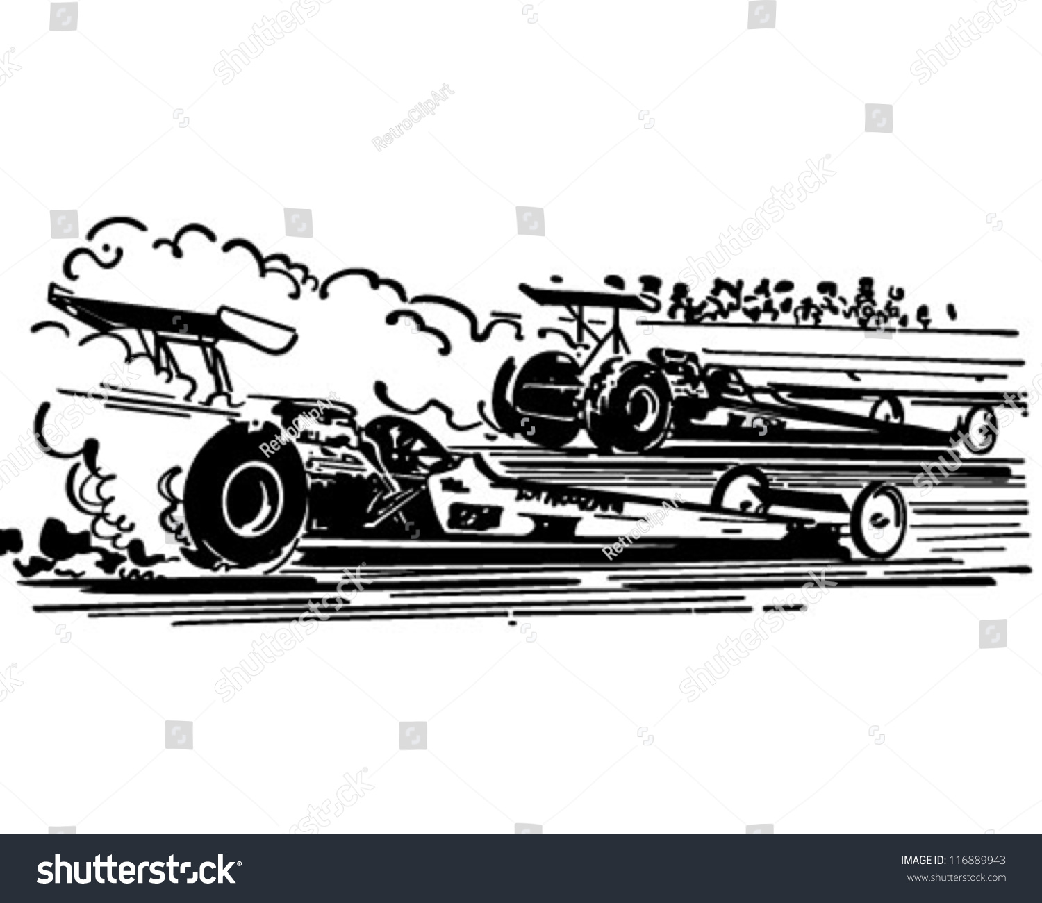 Drag racing clipart 5 » Clipart Station.
