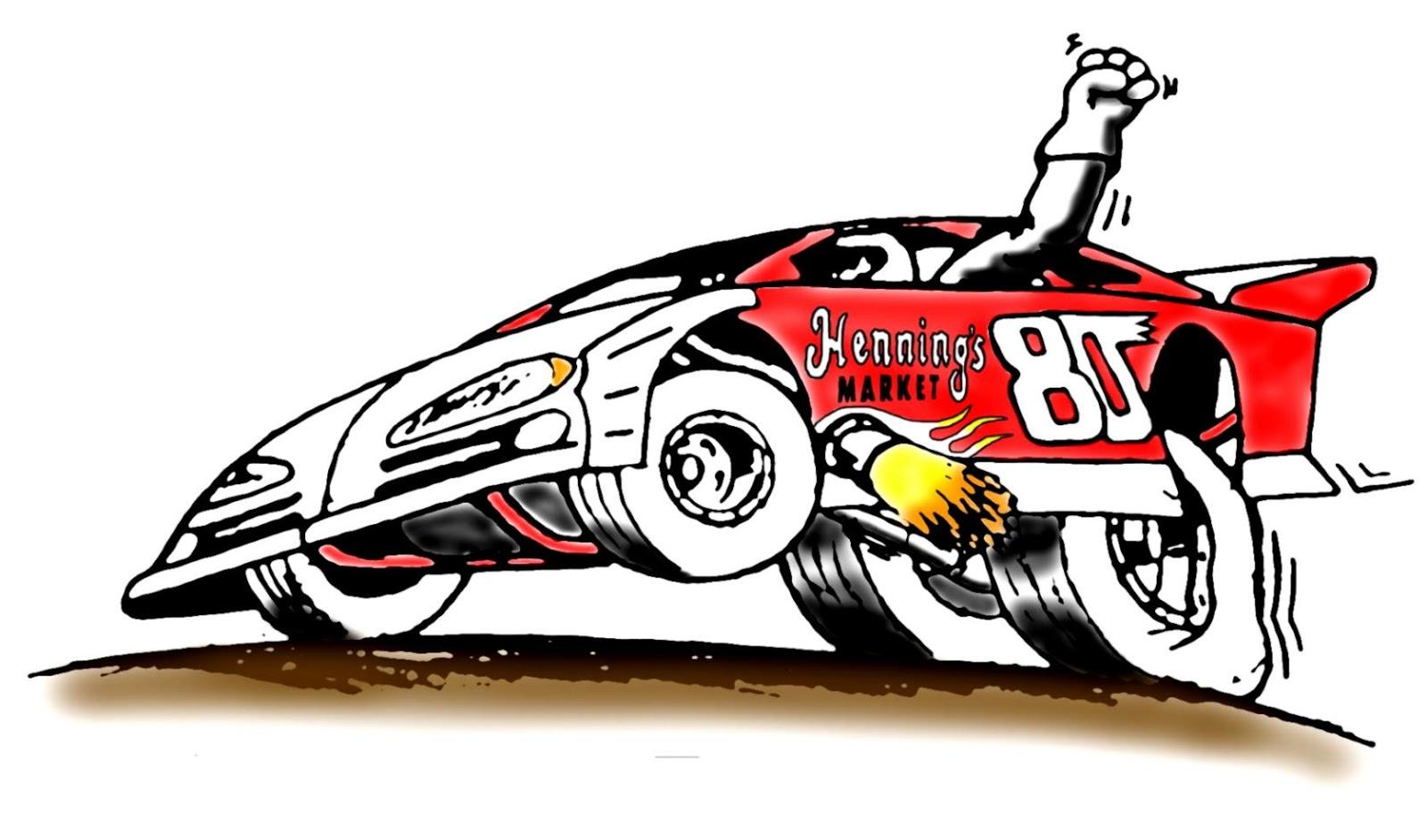 Drag Race Car Clipart.