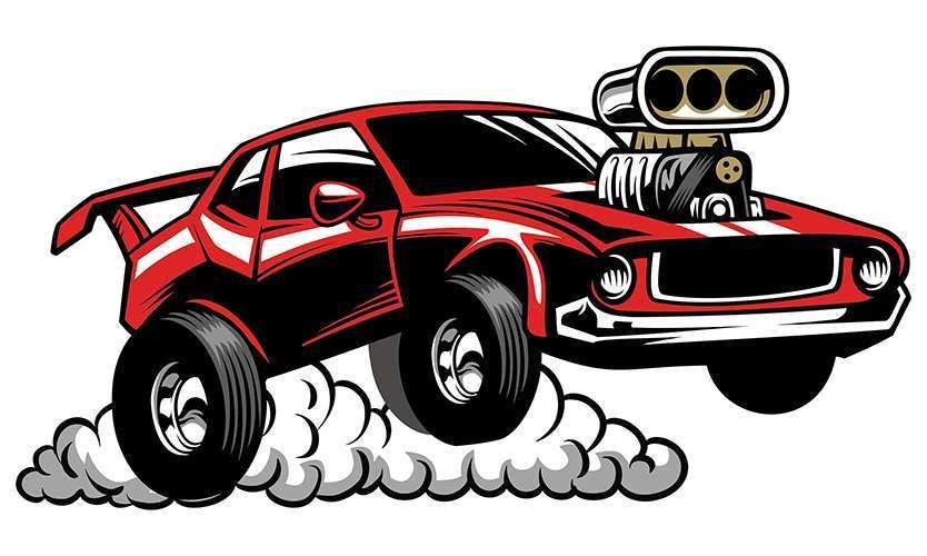 Drag car clipart 4 » Clipart Portal.
