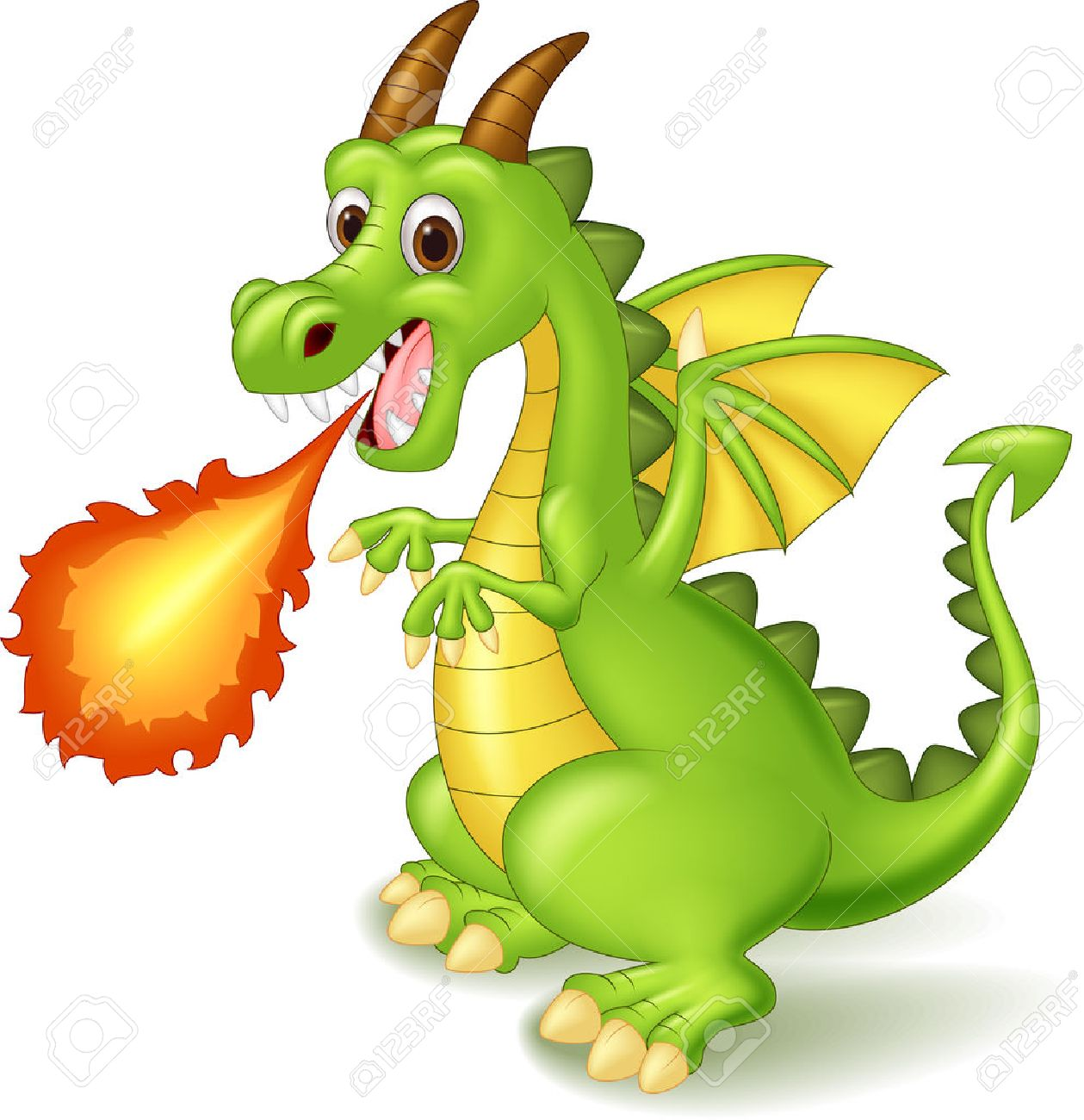 Dragon Fire Clipart.