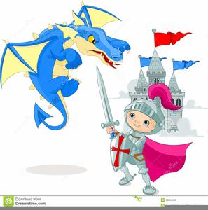 Knight Dragon Clipart.