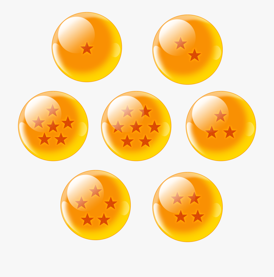 Dragon Ball Clipart Orange.