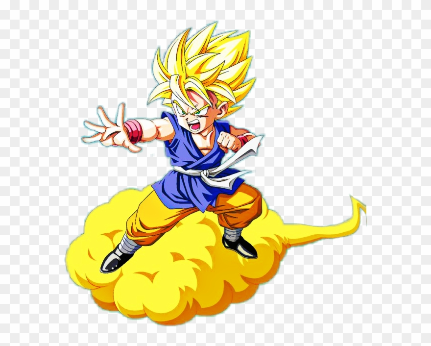 Dragon Ball Gt Kid Goku Clipart (#1060766).