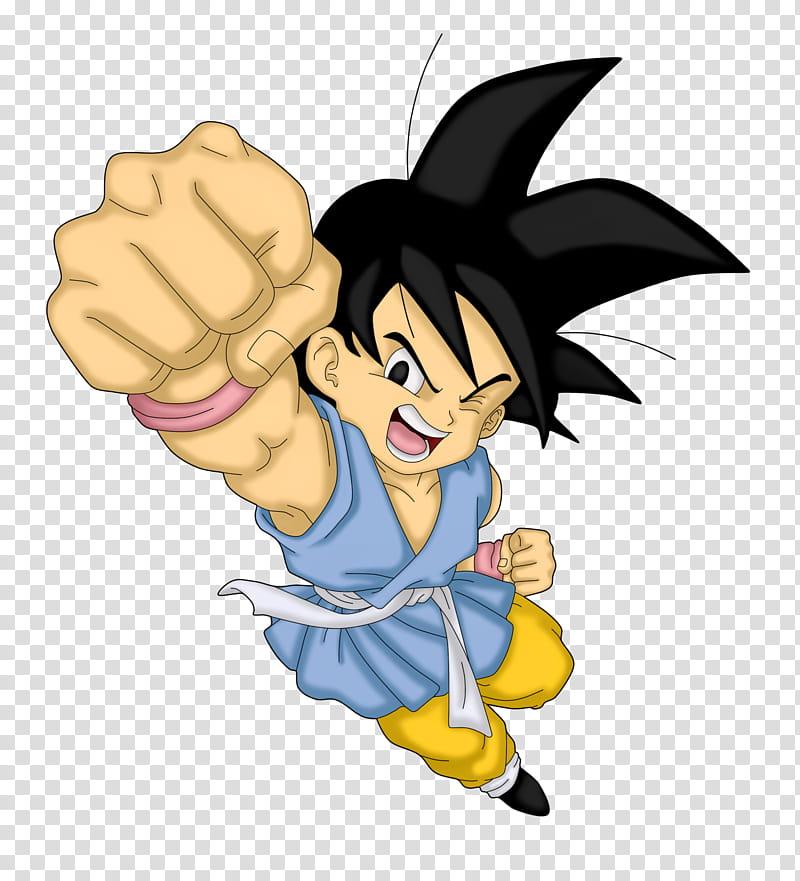 Goku Dragon Ball GT transparent background PNG clipart.