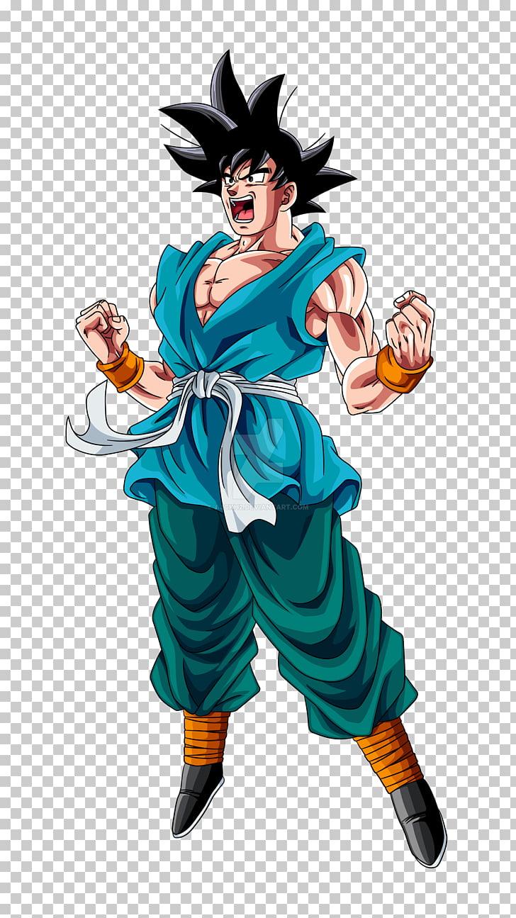 Goku Krillin Vegeta Dragon Ball Heroes Super Saiya, goku PNG.
