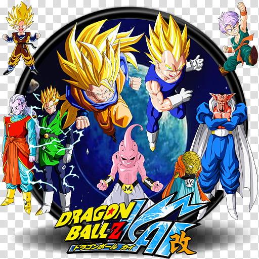 Dragonball Kai Complete Icon Set, BUU SAGA DB KAI.