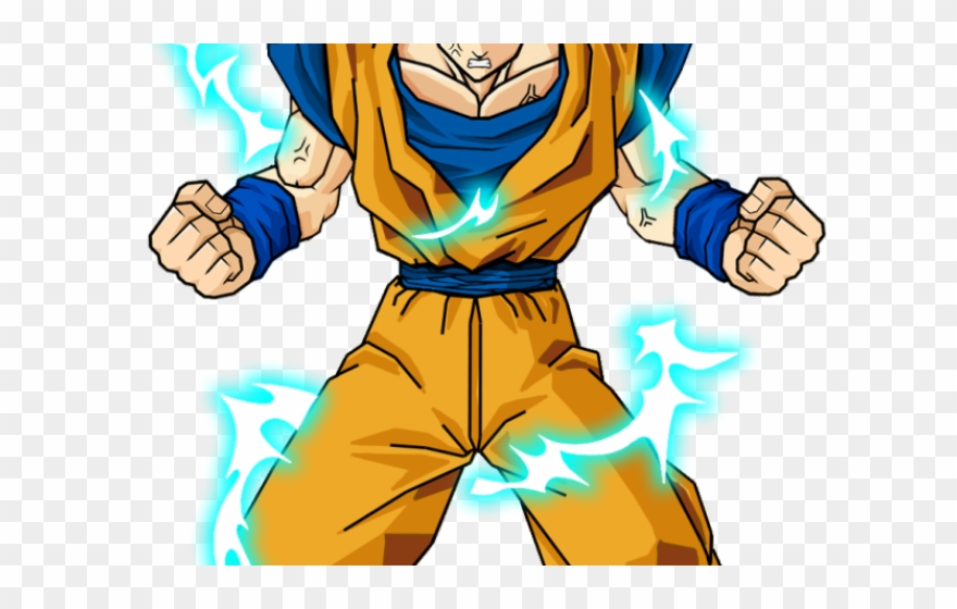 Goku Clipart Transparent Background.