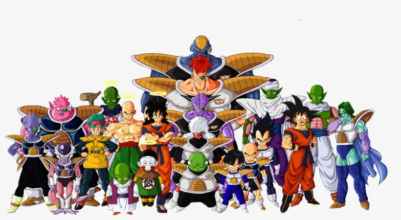 Dragon Ball Z Characters Png File.