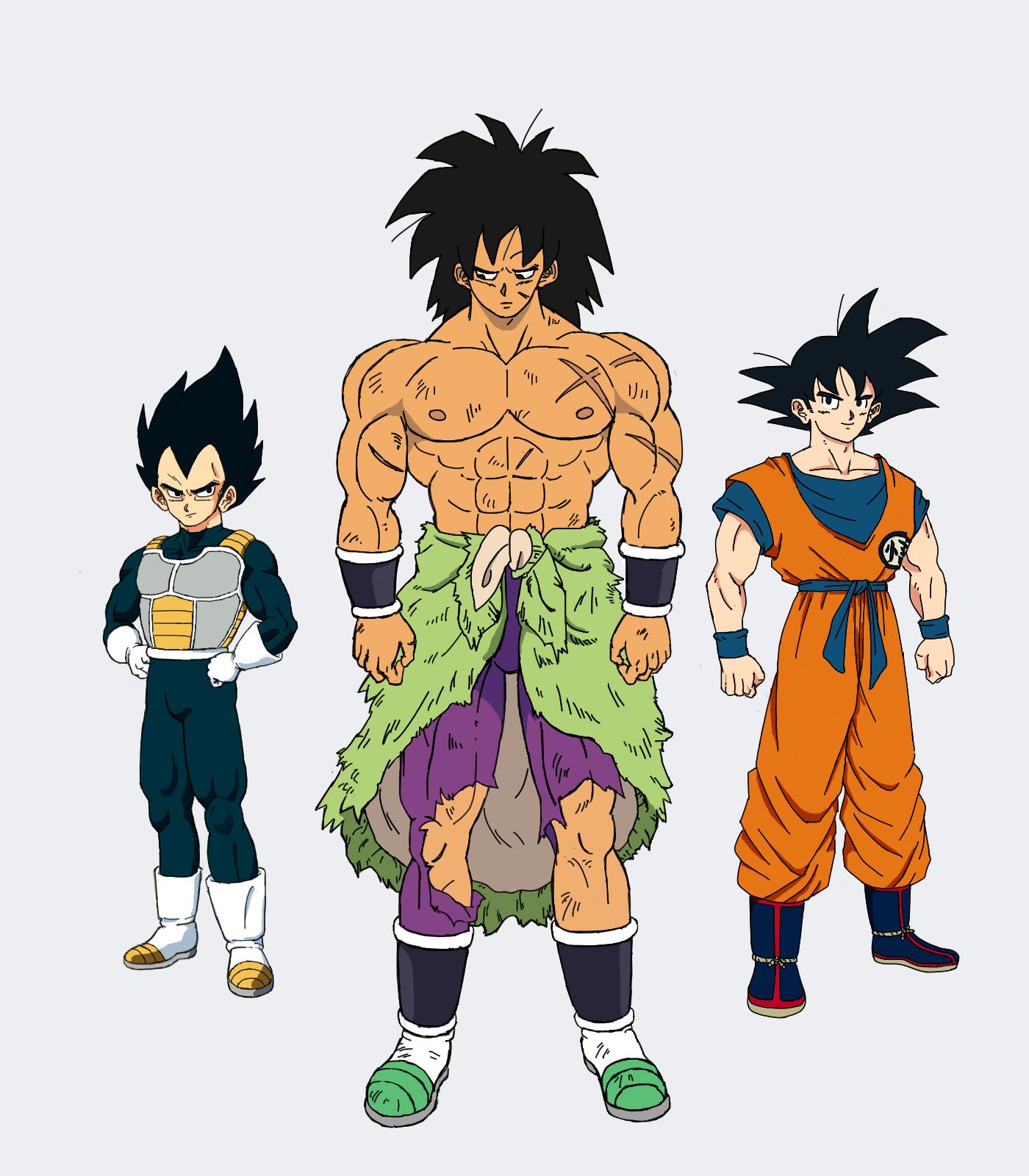 Romance of The Three Saiyans [Dragon Ball Super: Broly] : dbz.