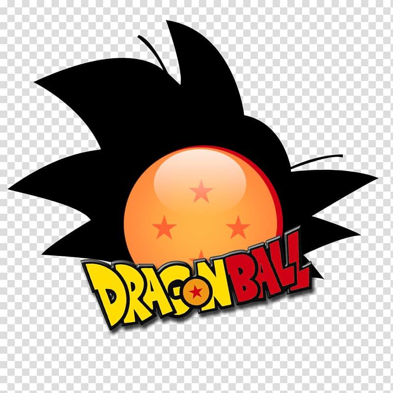 Logo Dragon Ball Super Saiyan Silhouette, dragon ball.