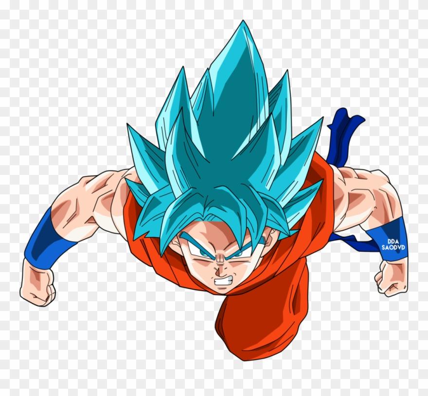 Goku Clipart Ssgss.