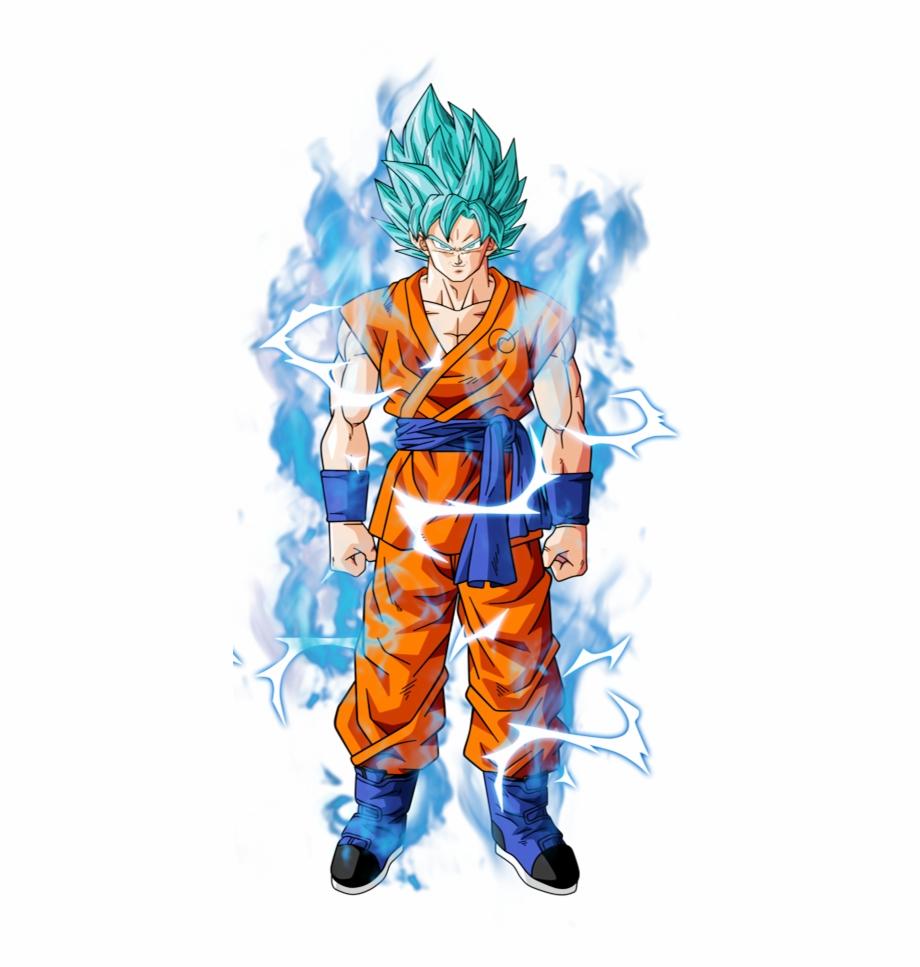 553kib, 455x887, Goku Ssjb By Bardocks And Changed.